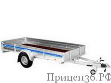 Прицеп Tiki Профи с тормозами в Воронеже