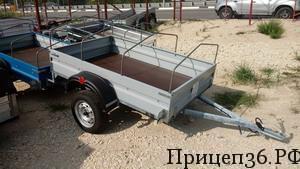 Прицеп Титан 2.0 Окрашеный в Воронеже