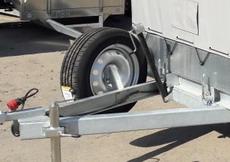 Крепление запасного колеса на прицеп в Воронеже
